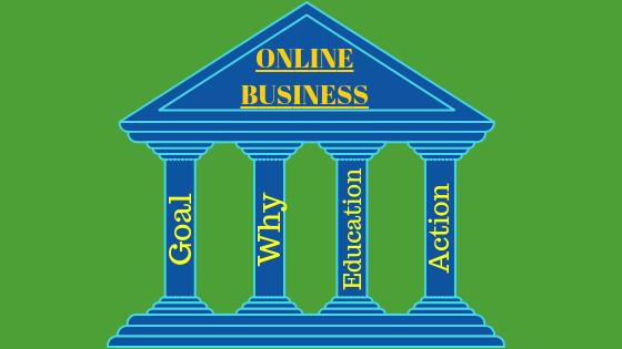 The Four Key pillars for successful online entrepreneurs
